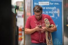 Ludzie na times square w Manhattan, NYC Obrazy Stock