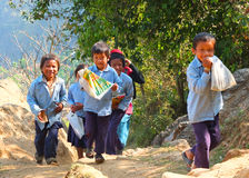 Ludzie Nepal Zdjęcie Stock