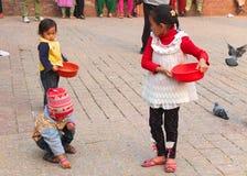 Ludzie Nepal Obrazy Stock