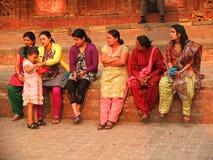 Ludzie Nepal Zdjęcia Stock