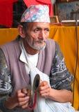 Ludzie Nepal Obraz Royalty Free