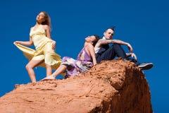 ludzie od mody Fotografia Royalty Free