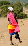 Ludzie od plemion Afryka, Kenja Zdjęcia Stock