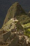 Ludzie Odwiedza Przegranego Incan miasto Mach Picchu blisko Cusco w Peru Obrazy Royalty Free