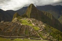 Ludzie Odwiedza Przegranego Incan miasto Mach Picchu blisko Cusco w Peru Fotografia Stock