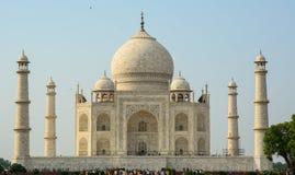 Ludzie odwiedzają Taj Mahal w Agra, India Fotografia Royalty Free