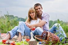 ludzie picnic potomstwa Obraz Royalty Free