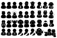 Ludzie piktogramów Zdjęcie Stock