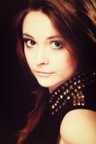 Ludzie pojęć - nastoletnia dziewczyna portret Obrazy Stock