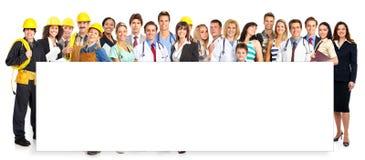 ludzie pracowników Zdjęcie Stock