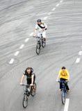 Ludzie przejażdżka rowerów Obraz Stock