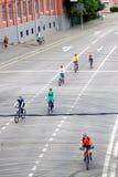 Ludzie przejażdżka rowerów Zdjęcia Royalty Free