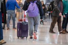 LUDZIE PRZY TORONTO PEARSON zawody międzynarodowi AIRPOT, TERMINAL 1 obraz royalty free