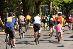Ludzie przy wycieczką turysyczną De L ` ile w Montreal w Kanada Zdjęcie Royalty Free