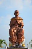 Ludzie przychodzą Wat larwy świątynia dla modlą się Somdej Toh Obraz Stock