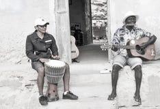 Ludzie przylądek Verde, Afryka Zdjęcia Royalty Free