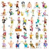 Ludzie różny zawód ilustracji