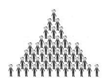 Ludzie ręka rysunku zdjęcie royalty free