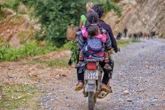 Ludzie Sa Pa w Wietnam Zdjęcia Stock