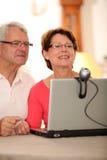 ludzie senior technologii Zdjęcie Stock