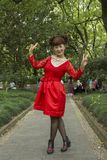 Ludzie Szanghaj bogaty miasto w Chiny Zdjęcia Royalty Free