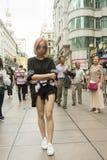 Ludzie Szanghaj bogaty miasto w Chiny Obraz Royalty Free