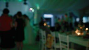 Ludzie tana na przyjęciu zdjęcie wideo