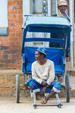 Ludzie w ANTANANARIVO, MADAGASCAR Obrazy Stock