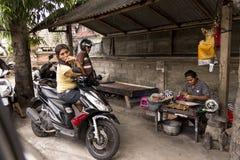 Ludzie w Bali Obrazy Royalty Free