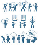 Ludzie w biznesu secie Obraz Stock