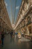 Ludzie w Galeries Royales Hubert przy Bruksela Obraz Stock