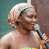 Ludzie w GHANA Obraz Royalty Free