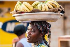 Ludzie w GHANA obraz stock