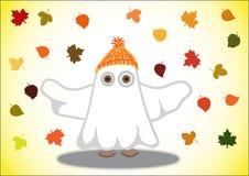 Ludzie w kostiumu dla Halloweenowych duchów Zdjęcie Stock