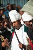 Ludzie w LALIBELA, ETIOPIA obraz stock