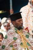 Ludzie w LALIBELA, ETIOPIA zdjęcia stock