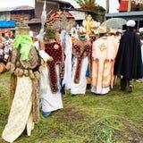 Ludzie w LALIBELA, ETIOPIA Obrazy Royalty Free