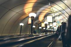 Ludzie w metrze Fotografia Royalty Free
