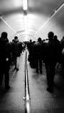 Ludzie w metrze Zdjęcia Royalty Free