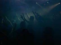 Ludzie w noc klubie Obraz Royalty Free