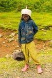 Ludzie w OMO, ETIOPIA Obraz Stock
