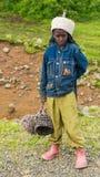 Ludzie w OMO, ETIOPIA Fotografia Stock
