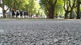 Ludzie w parku zdjęcia stock