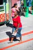 Ludzie w POŁUDNIOWA AFRYKA Zdjęcia Stock