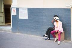Ludzie w POŁUDNIOWA AFRYKA Fotografia Royalty Free