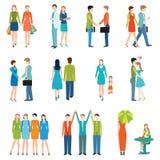 Ludzie w różnorodnych stylach życia ilustracja wektor