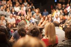 Ludzie w teatrze Obrazy Stock