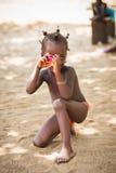 Ludzie w Togo, Afryka Zdjęcia Royalty Free
