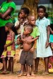 Ludzie w Togo, Afryka Fotografia Stock