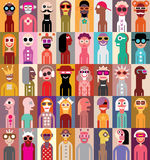 Ludzie wektor ilustraci Obraz Stock